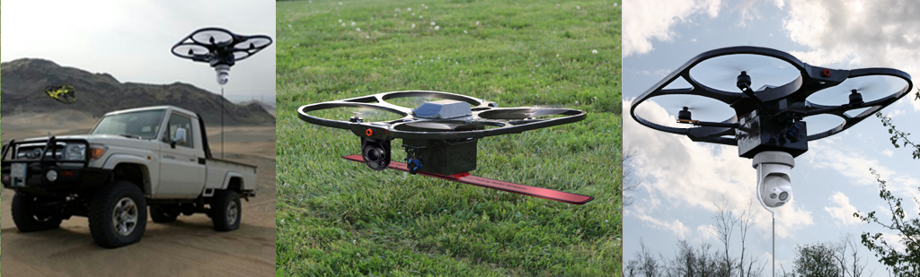 Mobile Recon Systems – UAVs, Drones, Quadcopter, Heavy lift